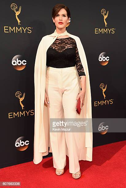 Musician Our Lady J attends the 68th Annual Primetime Emmy Awards at Microsoft Theater on September 18 2016 in Los Angeles California