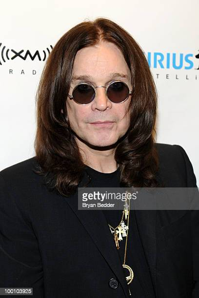 Musician Ozzy Osbourne appears at SIRIUS XM Studios to promote his new album Scream on May 20 2010 in New York City