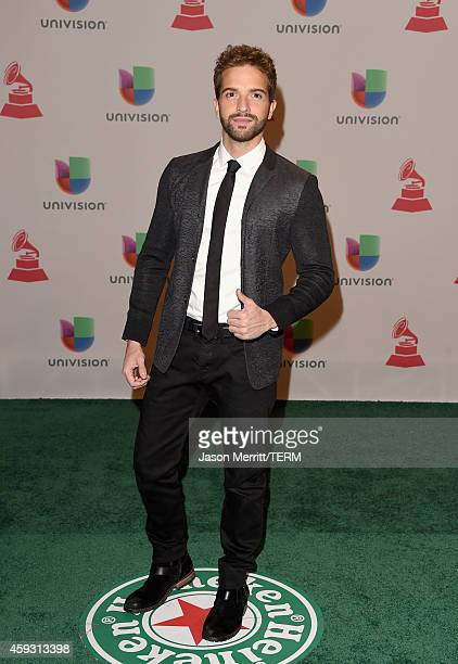 Musician Pablo Alboran attends the 15th Annual Latin GRAMMY Awards at the MGM Grand Garden Arena on November 20 2014 in Las Vegas Nevada