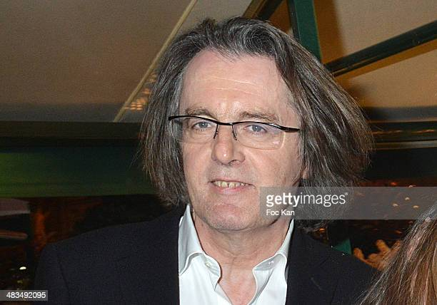 Musician Pascal Dusapin attends La Closerie Des Lilas Literary Awards 2014 7th at La Closerie Des Lilas on April 8 2014 in Paris France