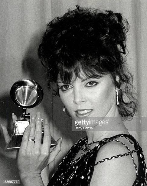Musician Pat Benatar attending 24th Annual Grammy Awards on February 24 1982 at Shrine Auditorium in Los Angeles California