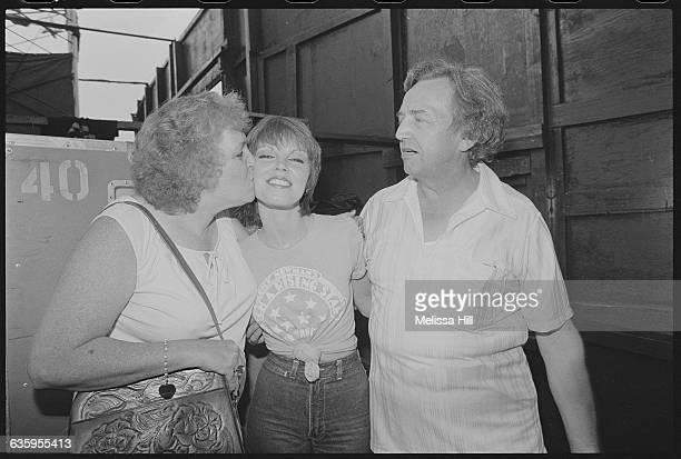 Musician Pat Benatar with Her Parents