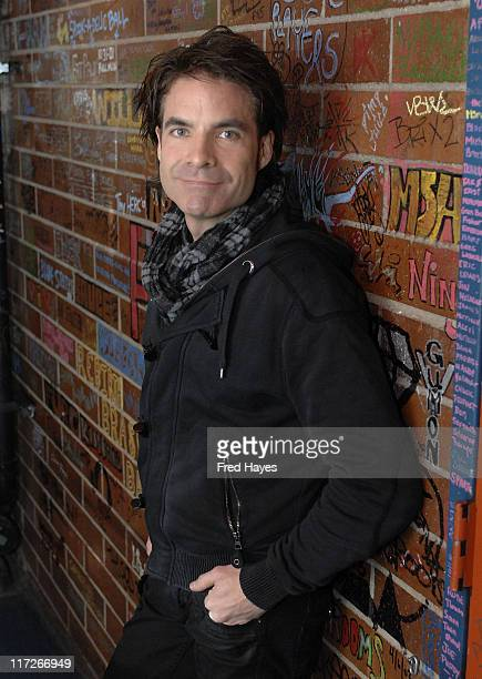 Musician Pat Monahan of Train visits the Music Cafe on January 20 2008 in Park City Utah