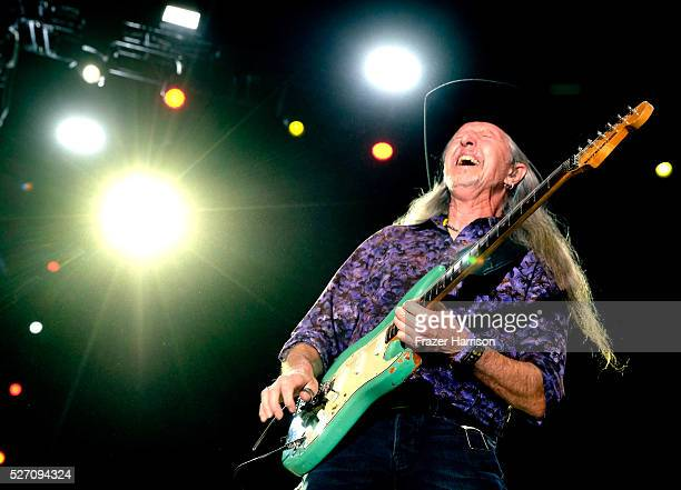 Musician Patrick Simmons of The Doobie Brothers performs onstage during 2016 Stagecoach California's Country Music Festival at Empire Polo Club on...