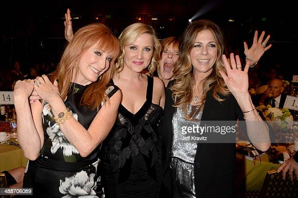 Musician Patti Scialfa and actresses Jessica Capshaw Kate Capshaw and Rita Wilson at USC Shoah Foundation's 20th Anniversary Gala at the Hyatt...
