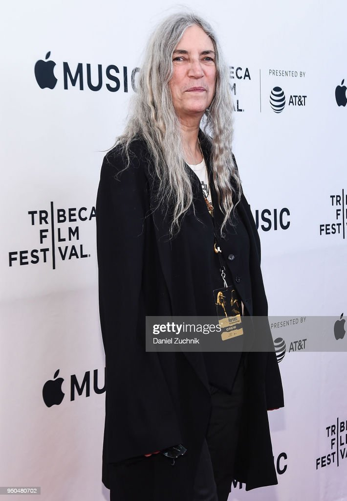 "2018 Tribeca Film Festival - ""Horses: Patti Smith And Her Band"""