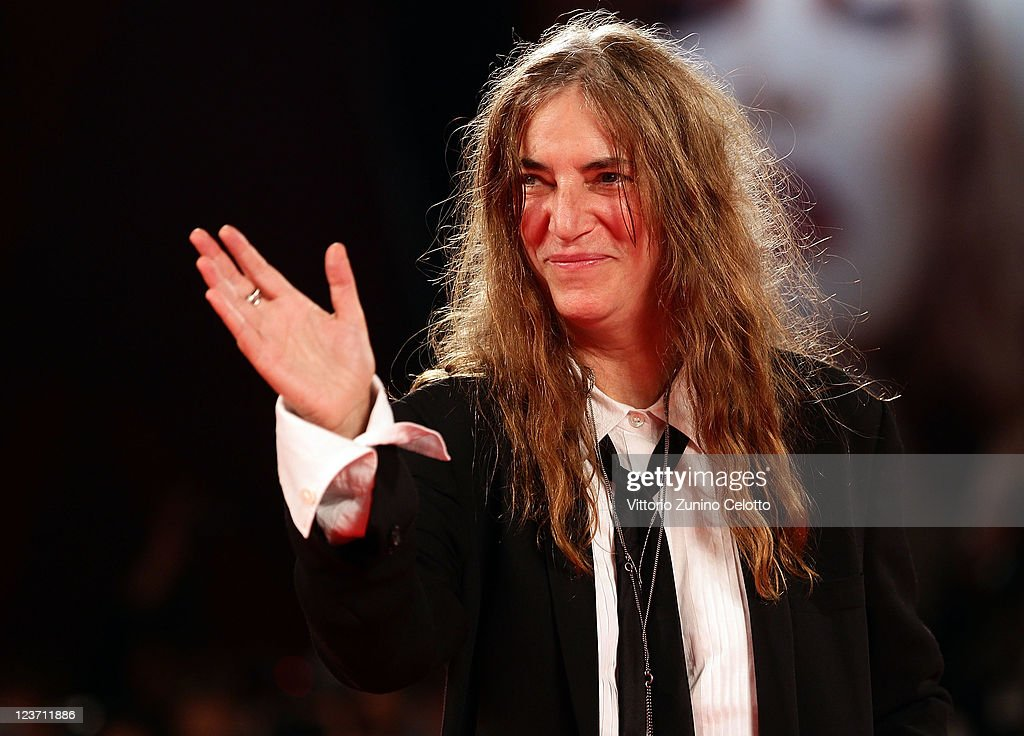 Lancia On The Red Carpet At The 68th Venice Film Festival - September 4, 2011 : News Photo