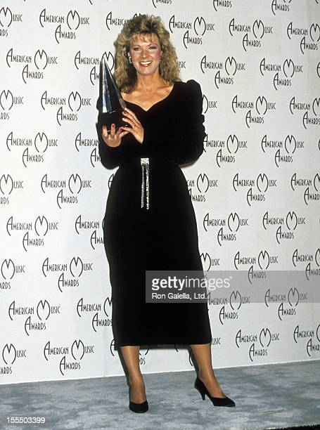 Musician Patty Loveless attends the 16th Annual American Music Awards on January 30 1989 at Shrine Auditorium in Los Angeles California