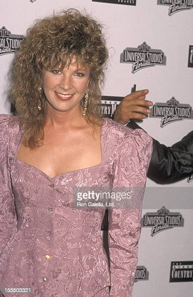 Musician Patty Loveless attends the 25th Annual Academy of Country Music Awards on April 25 1990 at Universal Studios in Orlando Florida
