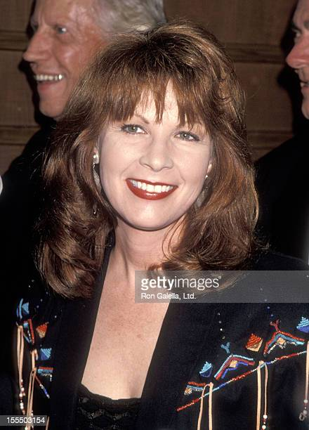 Musician Patty Loveless attends the Sixth Annual Gene Autry Western Heritage Museum Gala on October 28 1993 at Century Plaza Hotel in Los Angeles...