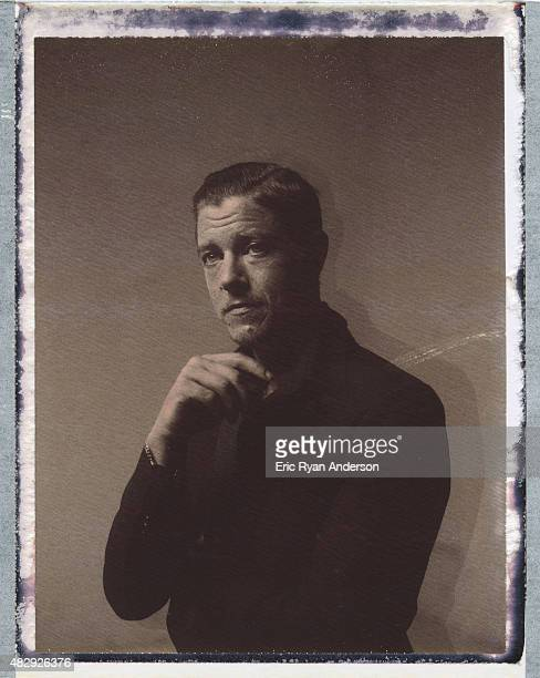 Musician Paul Banks of Interpol is photographed on polaroid film for Billboard Magazine on June 16 2014 in New York City