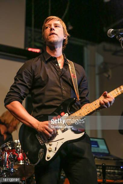 Musician Paul Banks performs at the listening party for his album 'Julian Plenti Lives' at Sonos Studio on September 1 2012 in Los Angeles California