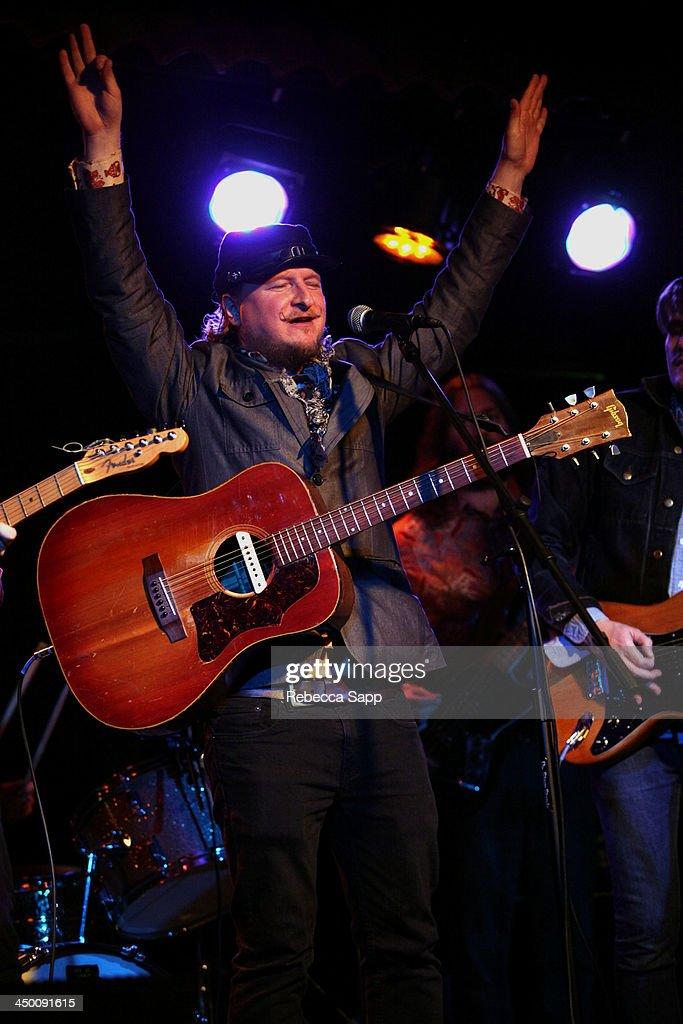 Musician Paul Chesne performs onstage at El Cid on November 15, 2013 in Los Angeles, California.
