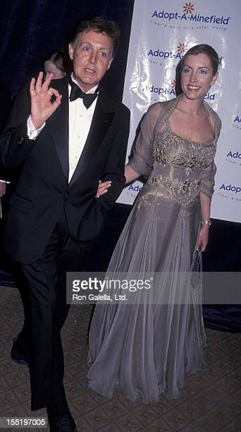 Musician Paul McCartney And Wife Heather Mills Attend First Annual Adopt A Minefield Benefit Gala On