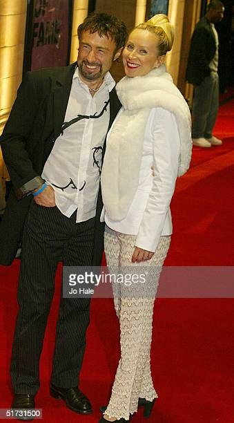 Musician Paul Rodgers and wife Cynthia arrive at the final of UK Music Hall Of Fame the Channel 4 series looking at popular music from the 1950's to...