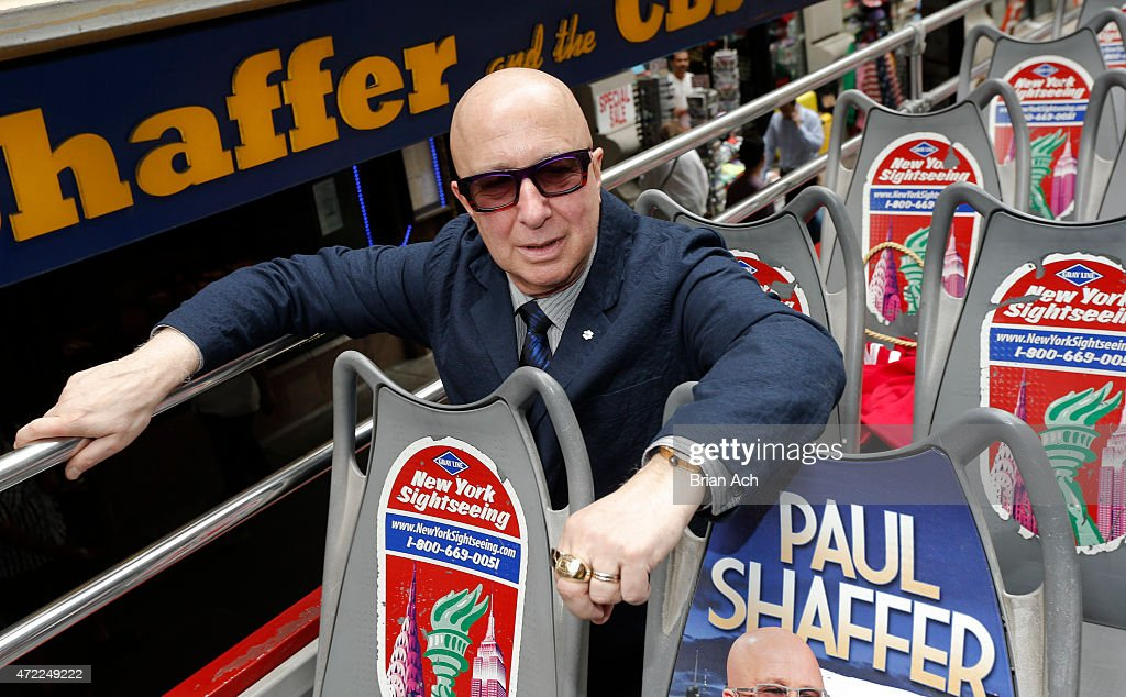 Ride Of Fame Honors Paul Shaffer : News Photo
