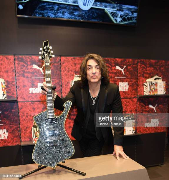 Musician Paul Stanley attends launch event for PUMA Collection on September 26 2018 in Las Vegas Nevada