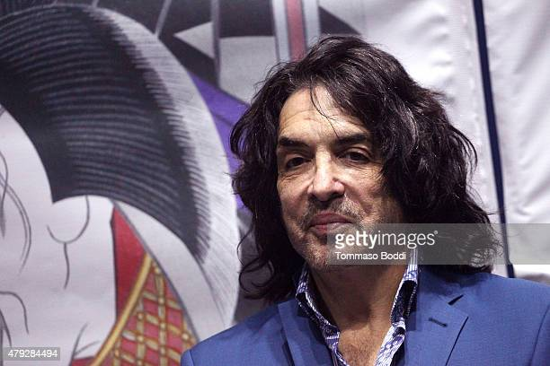 Musician Paul Stanley attends the press conference and concert hosted by KISS members Gene Simmons and Paul Stanley for Japanese Pop Group Momoiro...