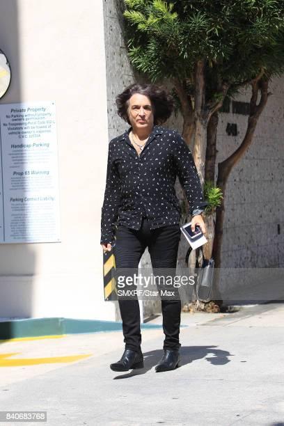 Musician Paul Stanley is seen on August 29 2017 in Los Angeles California