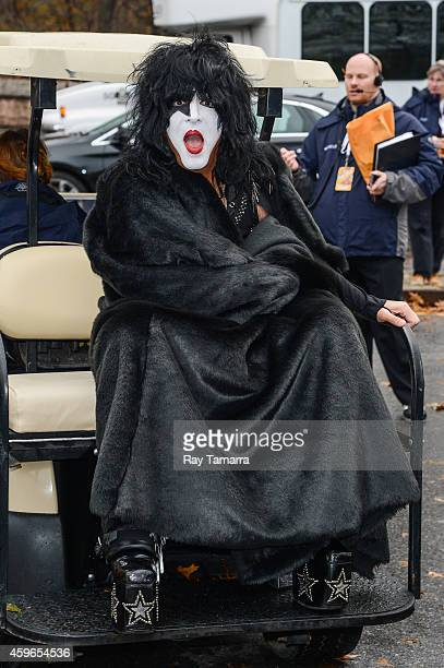Musician Paul Stanley of KISS attends the 88th Annual Macys Thanksgiving Day Parade on November 27 2014 in New York New York