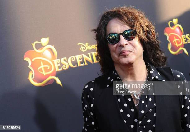 Musician Paul Stanley of the band Kiss attends the premiere of 'Descendants 2' at The Cinerama Dome on July 11 2017 in Los Angeles California