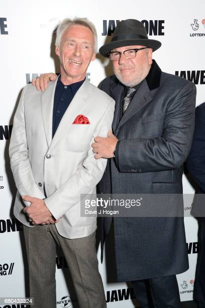 Musician Paul Weller and actor Ray Winstone attend the 'Jawbone' UK premiere at BFI Southbank on May 8 2017 in London United Kingdom