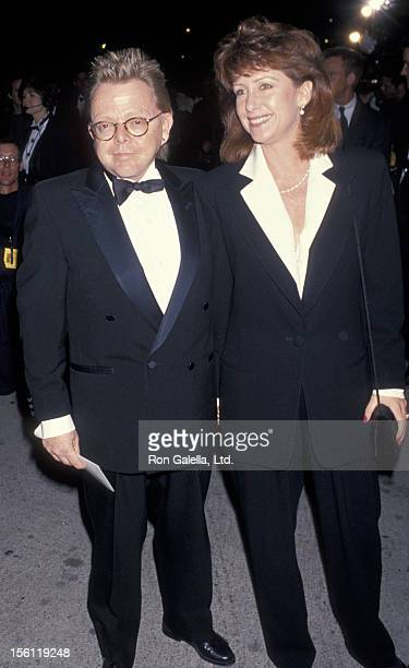 Musician Paul Williams and wife Hilda Wynn attending Eighth Annual American Comedy Awards on March 6 1994 at the Shrine Auditorium in Los Angeles...