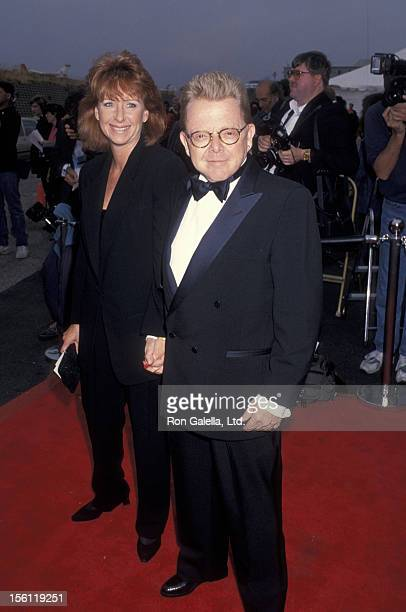 Musician Paul Williams and wife Hilda Wynn attending First Annual American Television Awards on May 23 1993 at the Barker Hanger at the Santa Monica...