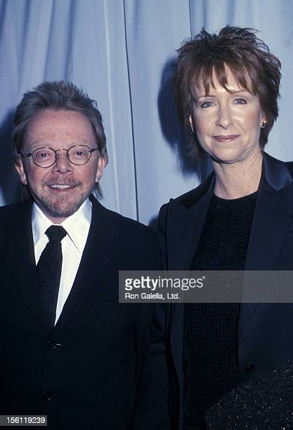Musician Paul Williams and wife Hilda Wynn attending 'Liza MinnelliDavid Gest Wedding Ceremony' on March 16 2002 at Marble Collegiate Church in New...