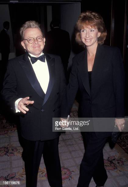 Musician Paul Williams and wife Hilda Wynn attending 'St Jude Gala Dinner Benefit and Whitney Houston Concert' on June 4 1993 at the Century Plaza...