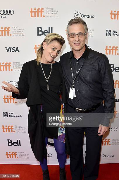 Musician Peaches and Howard Kerbel attend the To The Wonder premiere during the 2012 Toronto International Film Festival at the Princess of Wales...