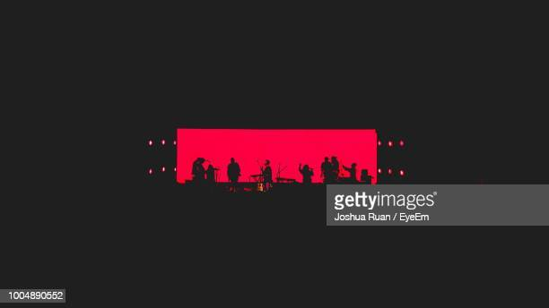 musician performing during concert - stage performance space stock pictures, royalty-free photos & images
