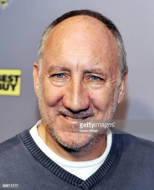 Musician Pete Townshend appears at Rachel Fuller's In The Attic presented by Best Buy at the Troubador on November 7 2008 in West Hollywood California