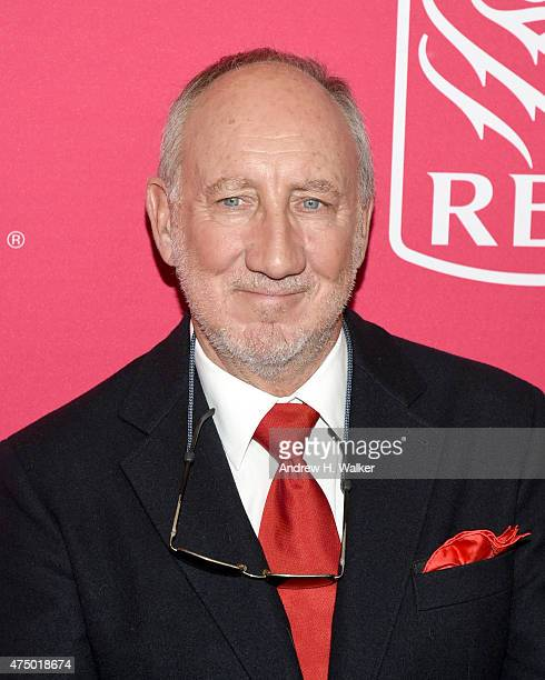 Musician Pete Townshend attends the 11th Annual Musicares Map Fund Benefit concert at Best Buy Theater on May 28 2015 in New York City