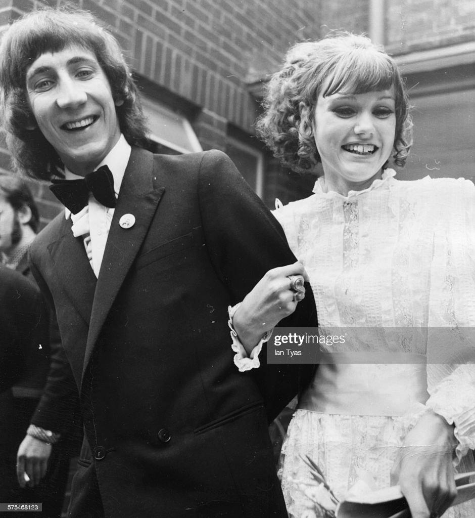 Pete Townshend And Karen Astley : News Photo