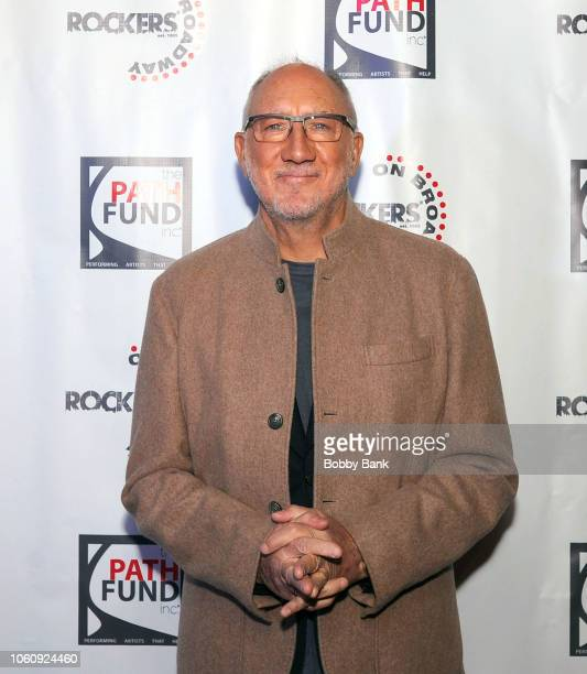 Musician Pete Townshend of The Who attends Rockers On Broadway 25th Anniversary Benefit Concert at Le Poisson Rouge on November 12 2018 in New York...