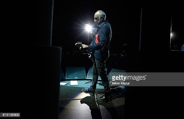 Musician Pete Townshend of The Who performs during Desert Trip at The Empire Polo Club on October 16 2016 in Indio California