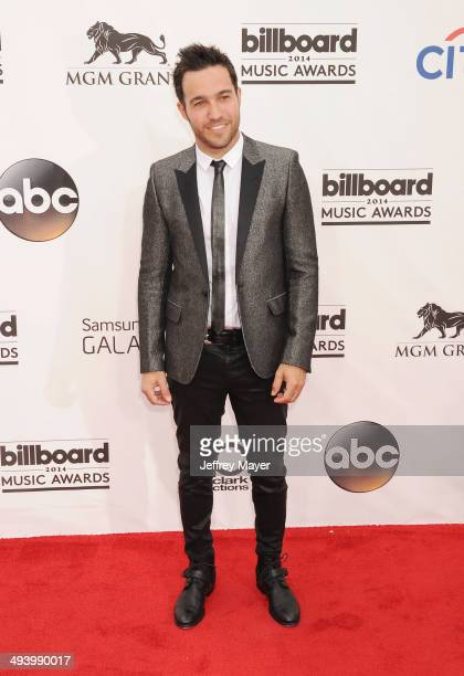 Musician Pete Wentz arrives at the 2014 Billboard Music Awards at the MGM Grand Garden Arena on May 18 2014 in Las Vegas Nevada