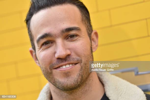 Musician Pete Wentz arrives at the premiere of Warner Bros Pictures' 'The LEGO Batman Movie' at Regency Village Theatre on February 4 2017 in...