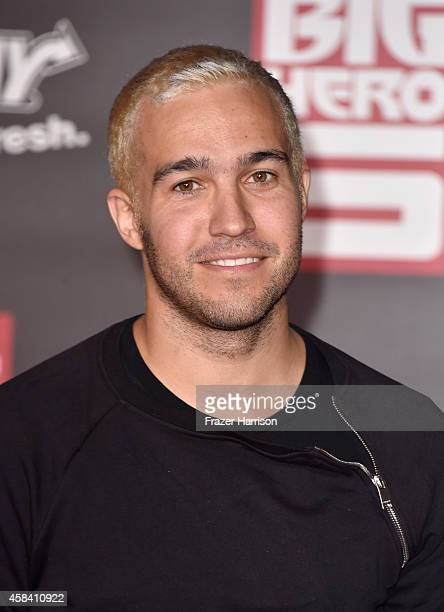 Musician Pete Wentz attends the premiere of Disney's Big Hero 6 at the El Capitan Theatre on November 4 2014 in Hollywood California