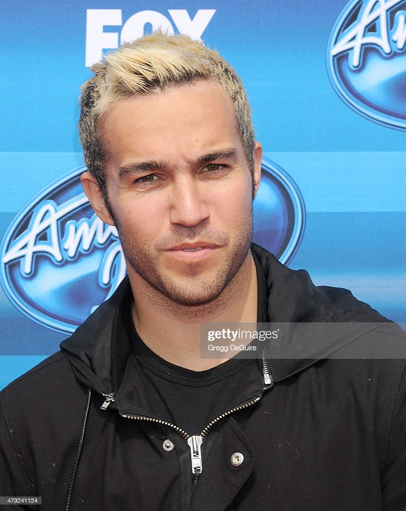 Musician Pete Wentz of Fall Out Boy arrives at the 'American Idol' XIV Grand Finale at the Dolby Theatre on May 13, 2015 in Hollywood, California.