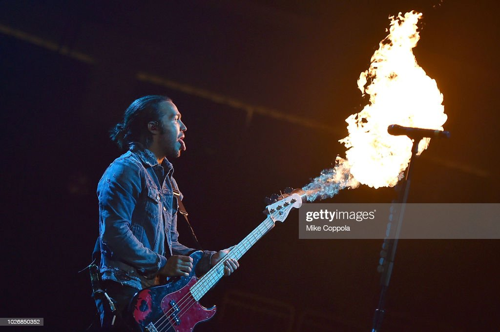Fall Out Boy In Concert - Newark, NJ : News Photo