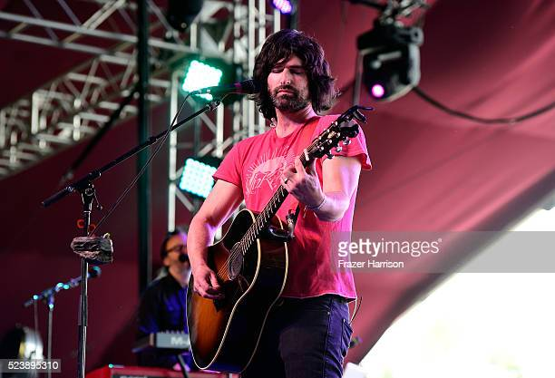 Musician Pete Yorn performs onstage during day 3 of the 2016 Coachella Valley Music Arts Festival Weekend 2 at the Empire Polo Club on April 24 2016...
