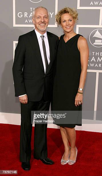 Musician Peter Frampton and his wife Tina arrive at the 49th Annual Grammy Awards at the Staples Center on February 11 2007 in Los Angeles California