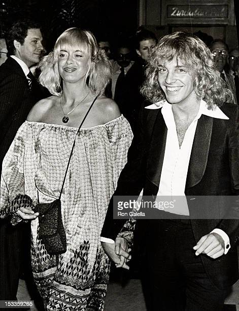Musician Peter Frampton and Penny McCall attend Clive Davis Testimonial Dinner Party on February 24 1978 at the Beverly Wilshire Hotel in Beverly...