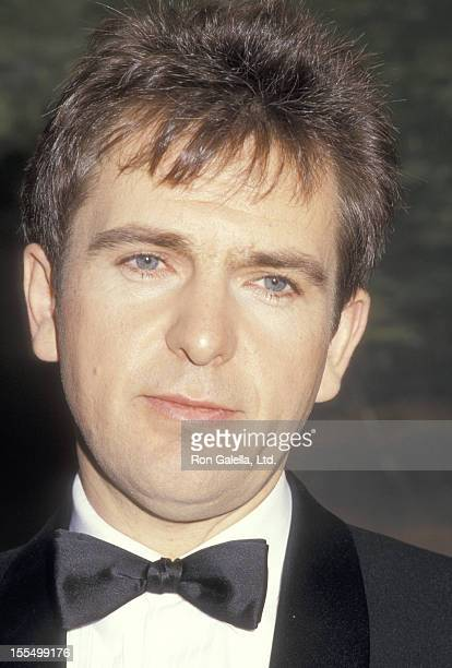 Musician Peter Gabriel attends the Fifth Annual American Video Awards on February 26 1987 at Scottish Rite Auditorium in Los Angeles California