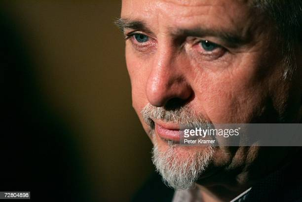 Musician Peter Gabriel pauses at the second annual gala dinner and concert to benefit Witness which helps promote human rights causes worldwide...