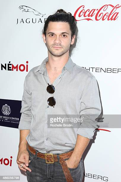 Musician Peter Harper arrives at the Accelerate4Change charity event presented by Dr Ben Talei Cinemoi on August 29 2015 in Beverly Hills California