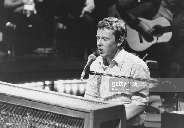 Musician Peter Skellern pictured performing for 'World of Music', October 1st 1978.