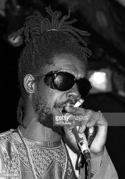 Musician Peter Tosh performing in concert on August 19 1979 at Xenon Disco in New York City